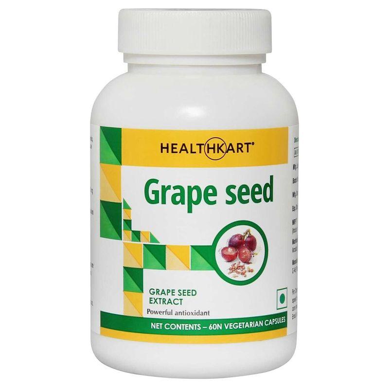 HealthKart Grape Seed Extract 60 Capsules