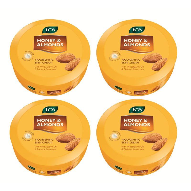 Joy Honey & Almonds Nourishing Skin Cream (Pack Of 4)
