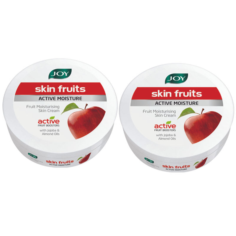 Joy Skin Fruits Active Moisture Fruit Moisturising Skin Cream (Pack Of 2)