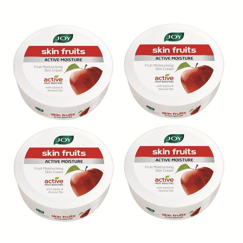 Joy Skin Fruits Active Moisture Fruit Moisturising Skin Cream (Pack Of 4)