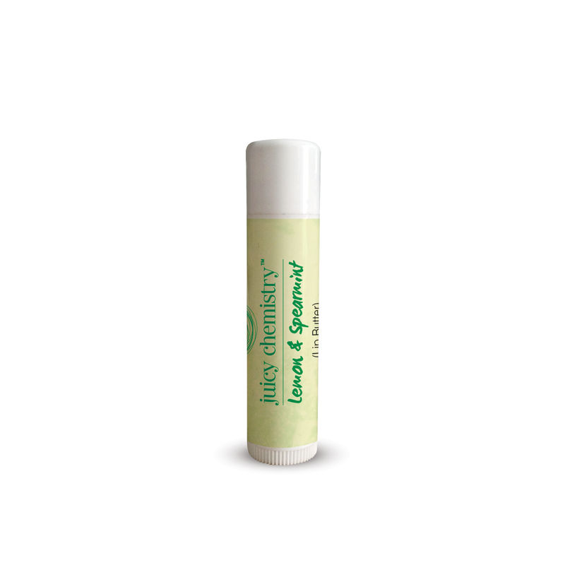 Juicy Chemistry Lemon & Spearmint (Lip Butter)