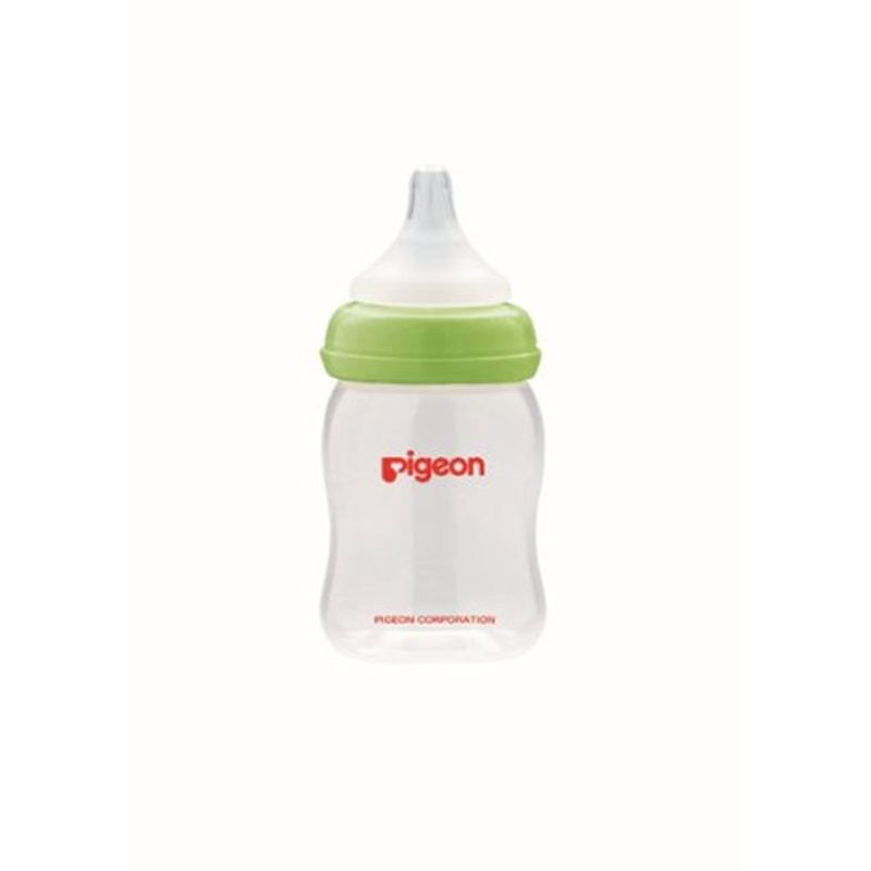 Pigeon Wn Nursing Bottle With Plus Type Nipple - Green