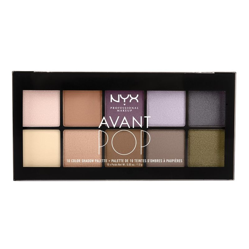 NYX Professional Makeup Avant Pop! Shadow Palette - Nouveau Chic