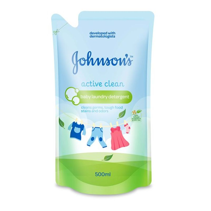 Johnson's Active Clean Baby Laundry Detergent
