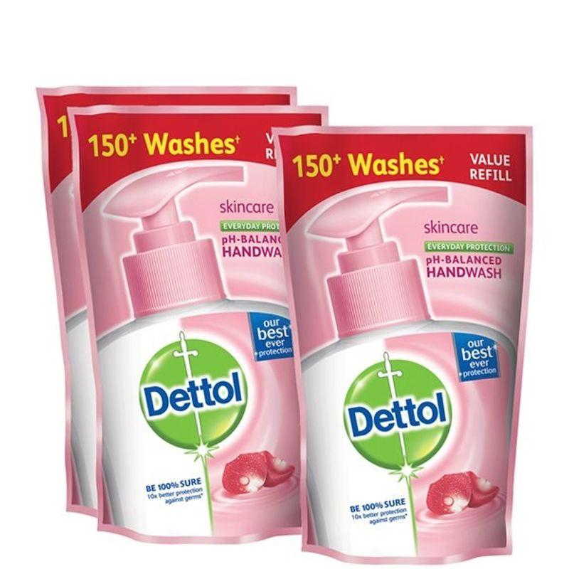 Dettol Skincare Liquid Handwash 175 Ml (Buy 2 Get 1 Free)(Off Rs.50)