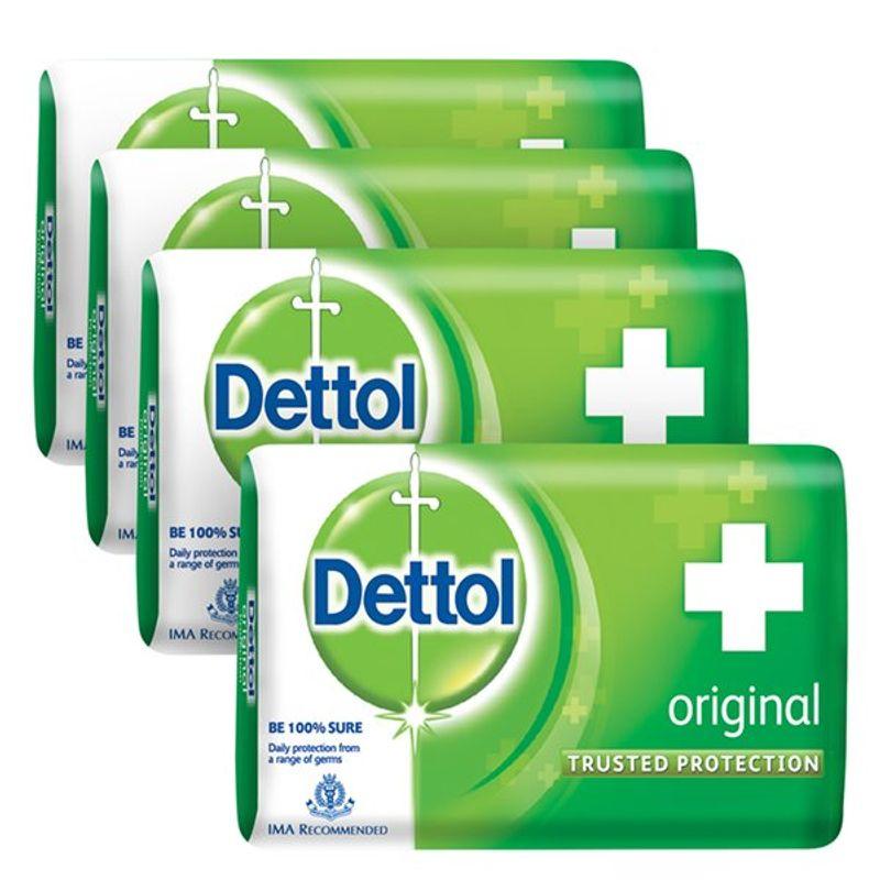 Dettol Original Soap (Buy 3 Get 1 Free)(Off Rs.29)