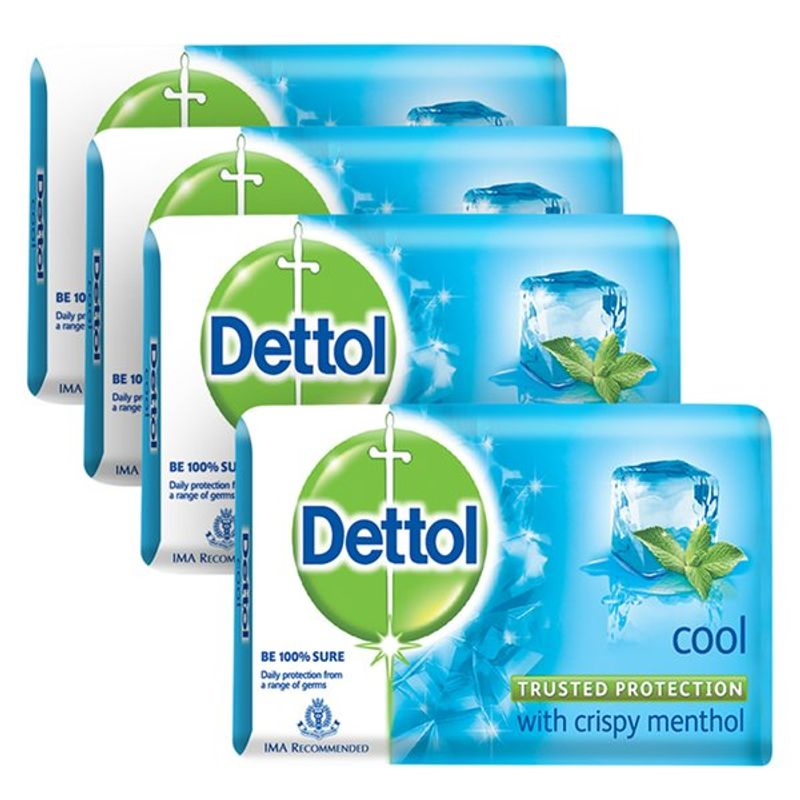 Dettol Cool Soap (Buy 3 Get 1 Free) (Off Rs.31)