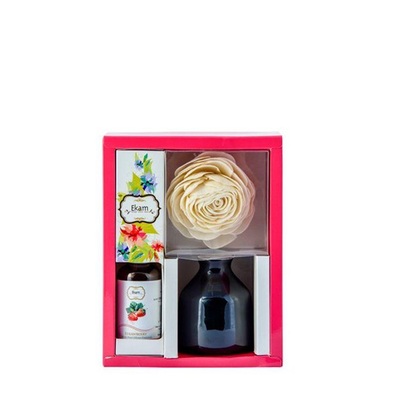 Ekam Strawberry Reed Diffuser Set