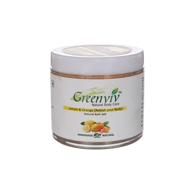Greenviv Natural Lemon & Orange Bath Salt