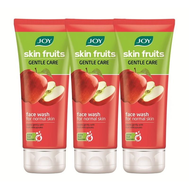 Joy Skin Fruits Gentle Care Apple Face Wash (Pack Of 3)