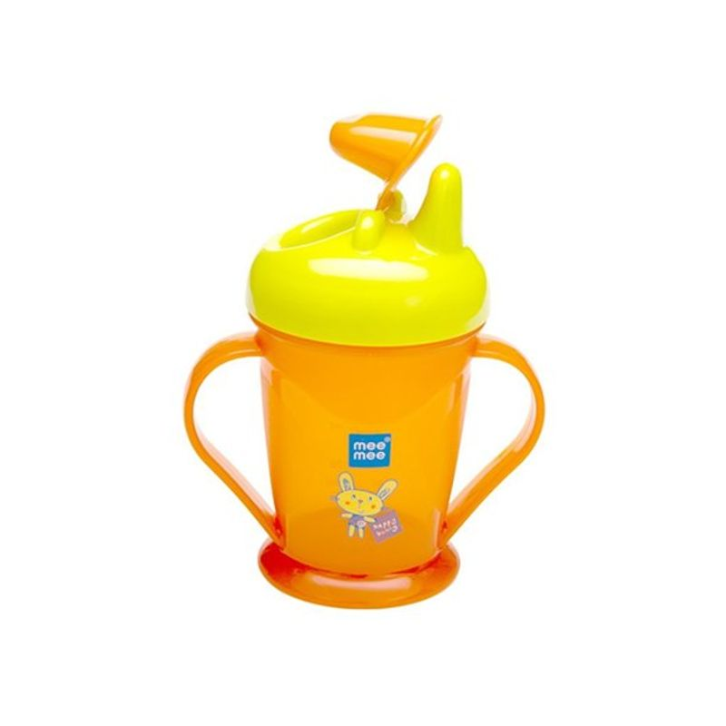 Mee Mee Baby Easy Grip Sipper Cup - Orange