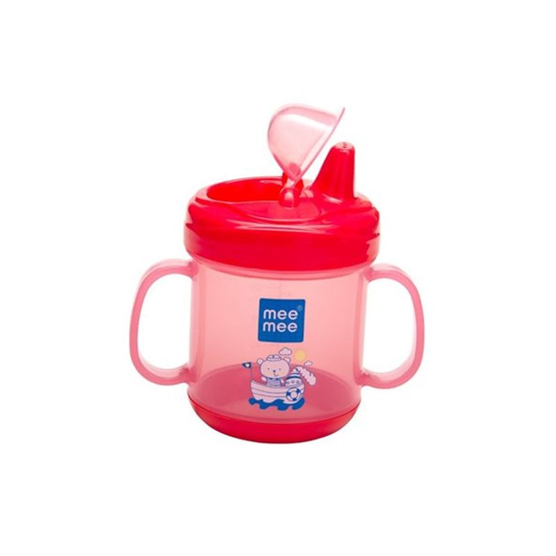 Mee Mee Baby No-Spill Sipper Cup - Pink