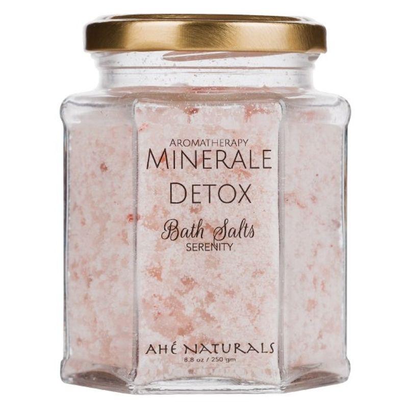 Ahé Naturals Minerale Detox - Aromatherapy Bath Salts