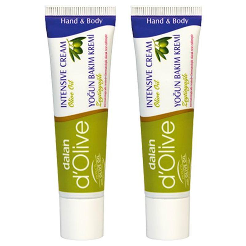 Dalan D'Olive Olive Oil Intensive Cream (Pack Of 2)