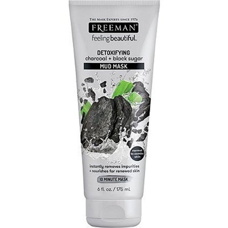 Freeman Charcoal Black Sugar Mud Mask