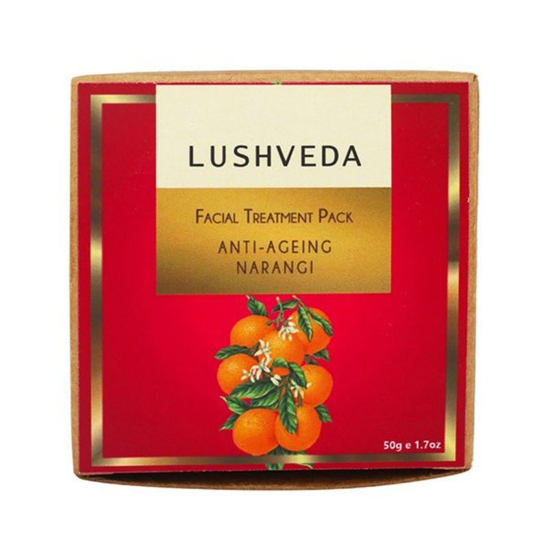 Lushveda Facial Treatment Pack - Anti Ageing Narangi