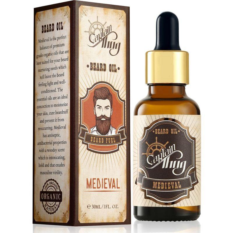 Captain Thug Beard Oil Ultra Premium & All Natural - Medieval