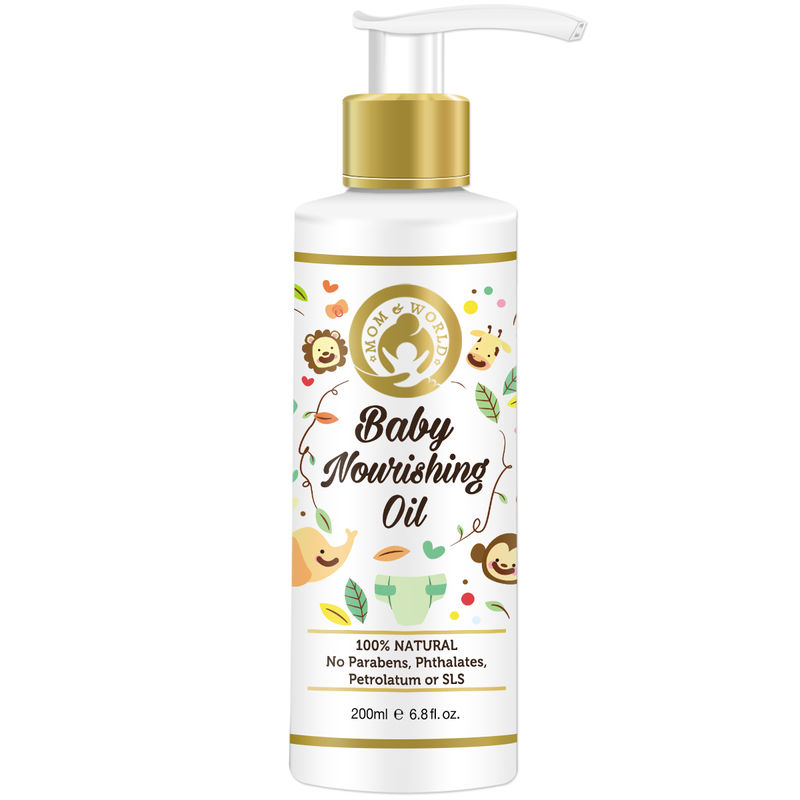 Mom & World Baby Nourishing Oil For Baby Massage