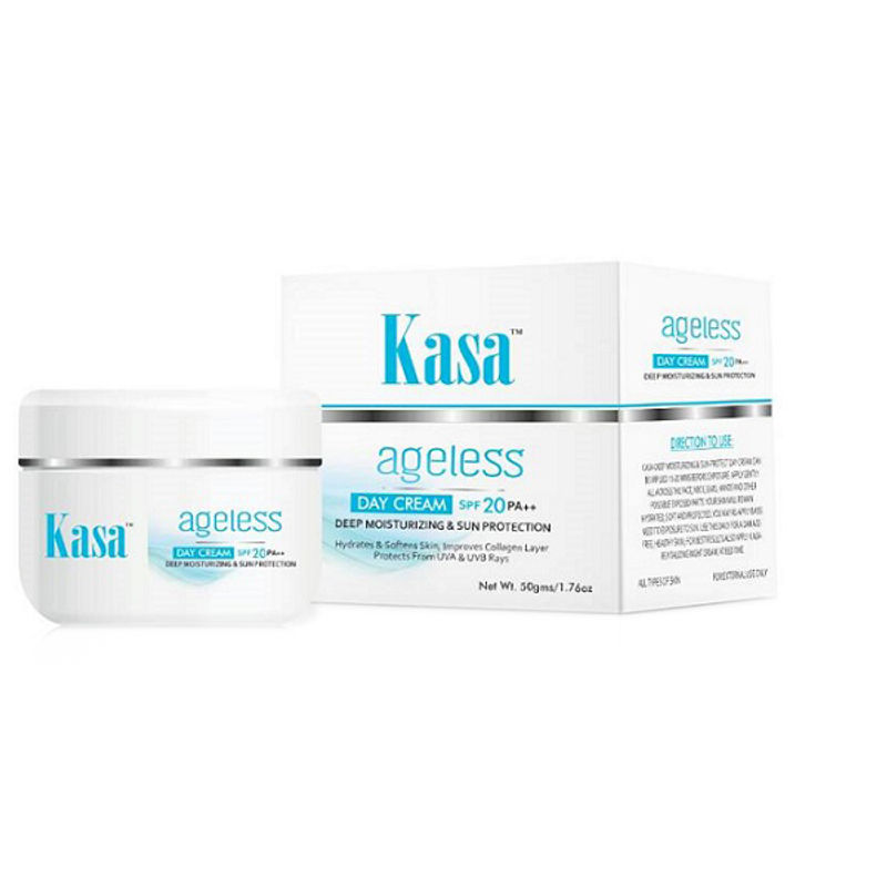 Kasa Ageless Deep Moisturizing Day Cream With SPF 20 PA++