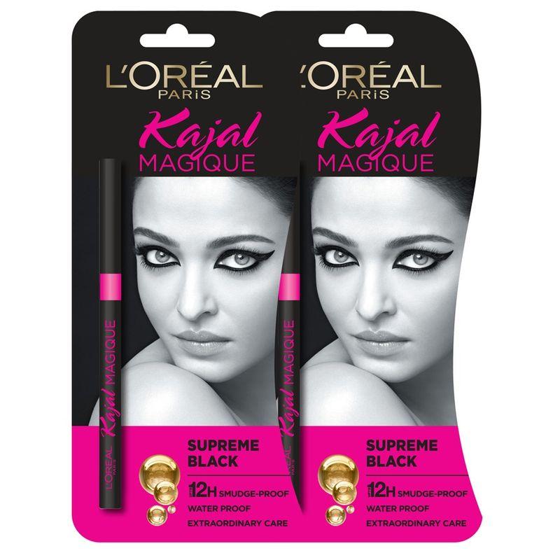L'Oreal Paris Kajal Magique (Pack Of 2)
