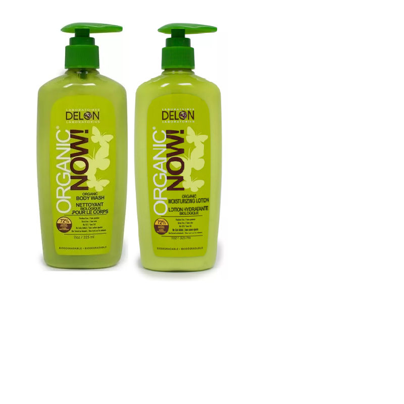 Delon Organic Body Wash And Lotion