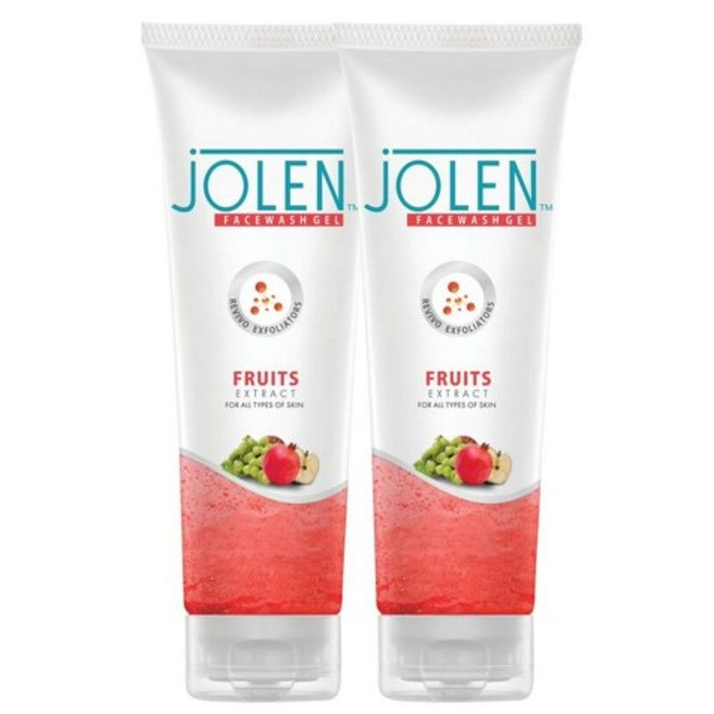 Jolen Fruit Face Wash Twin Pack