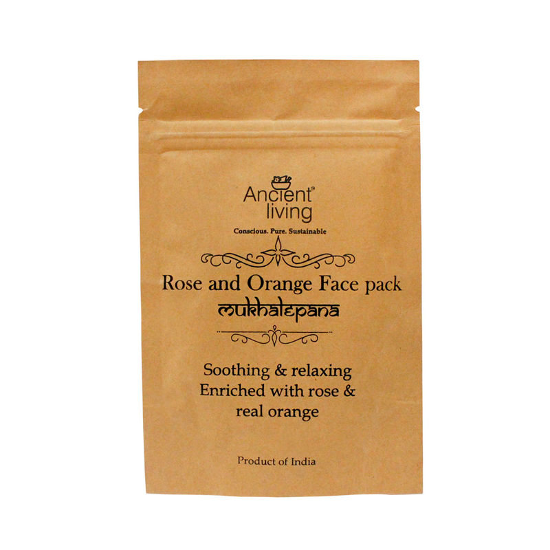 Ancient Living Rose And Orange Face Pack