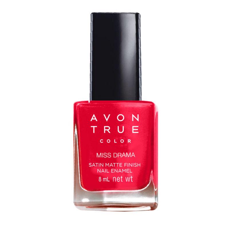 Avon True Color Satin Matte Finish Nail Enamel