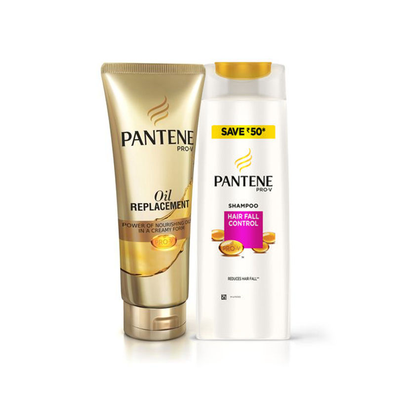 Pantene Pro-V Hair Fall Control Shampoo Save Rs.50 - Oil Replacement