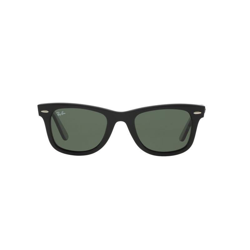 b224a22943e5 Ray-Ban Green Polarized Wayfarer Sunglasses - RB2140 901 58 54-18 at  Nykaa.com