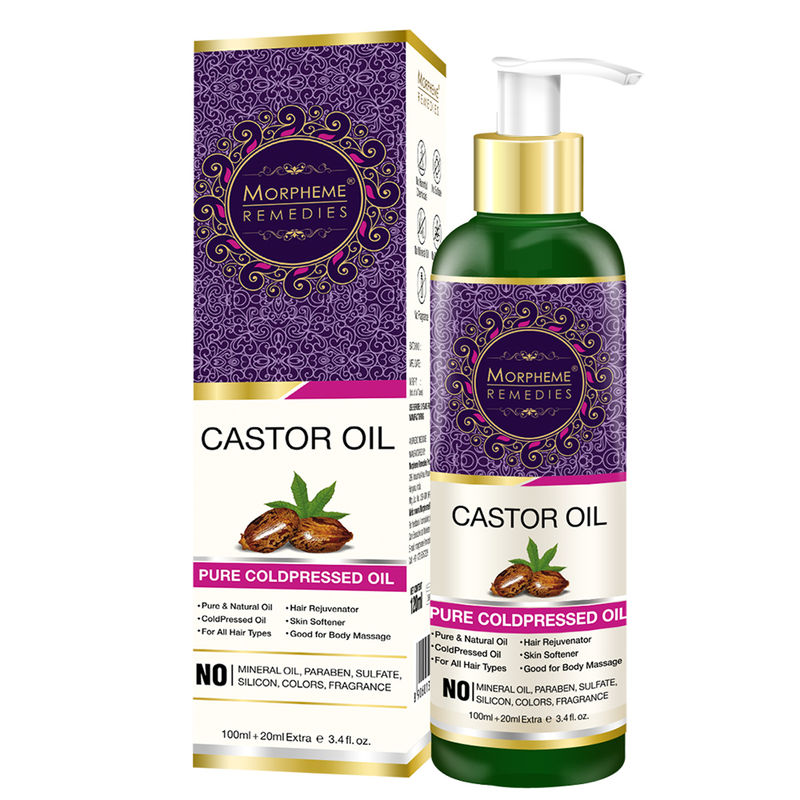 Morpheme Remedies Pure Coldpressed Castor Oil