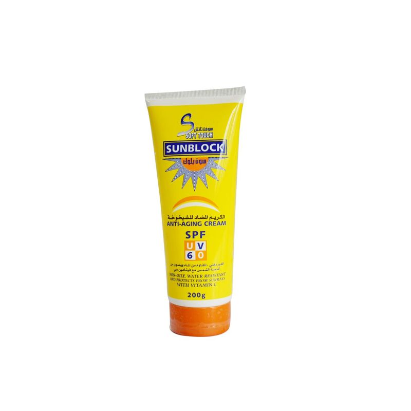 Soft Touch Sunblock Anti Aging Cream SPF 60