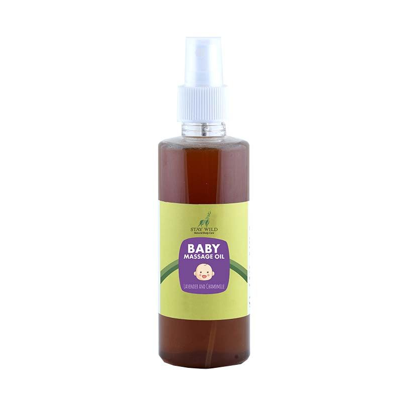 Stay Wild Baby Massage Oil - Lavender And Chamomile