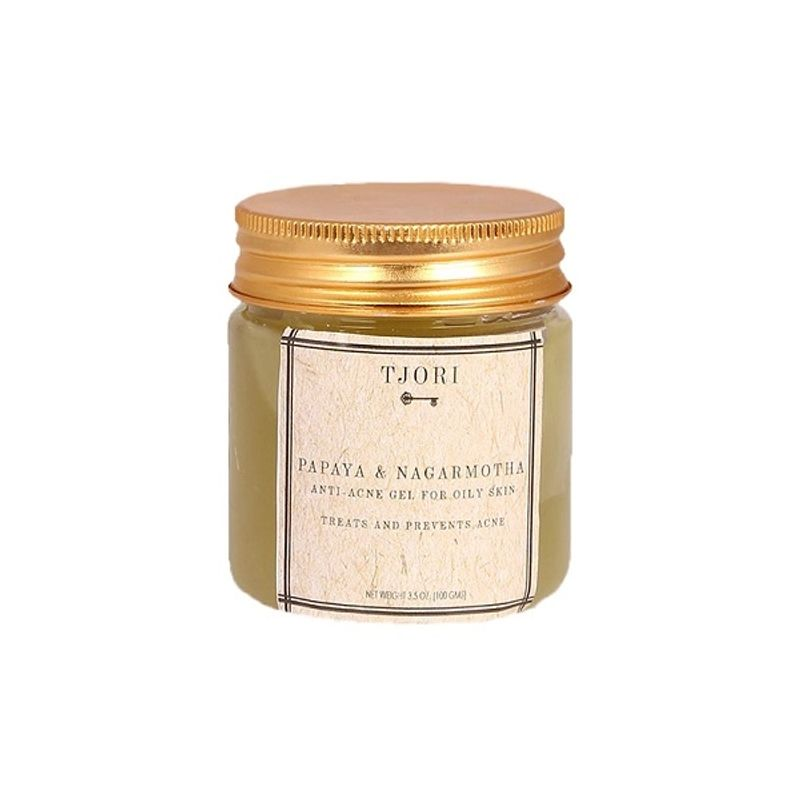 Tjori Papaya & Nagarmotha Anti - Acne Gel For Oily Skin Treats And Prevents Acne