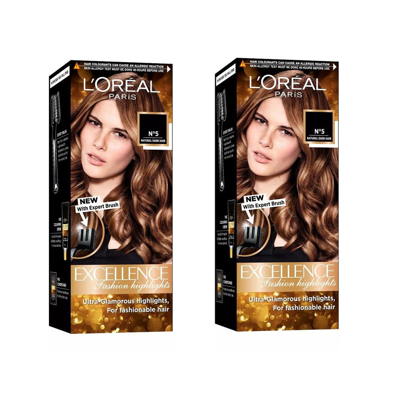 L'Oreal Paris Excellence Fashion Highlights Hair Color - Honey Blonde(Pack Of 2)