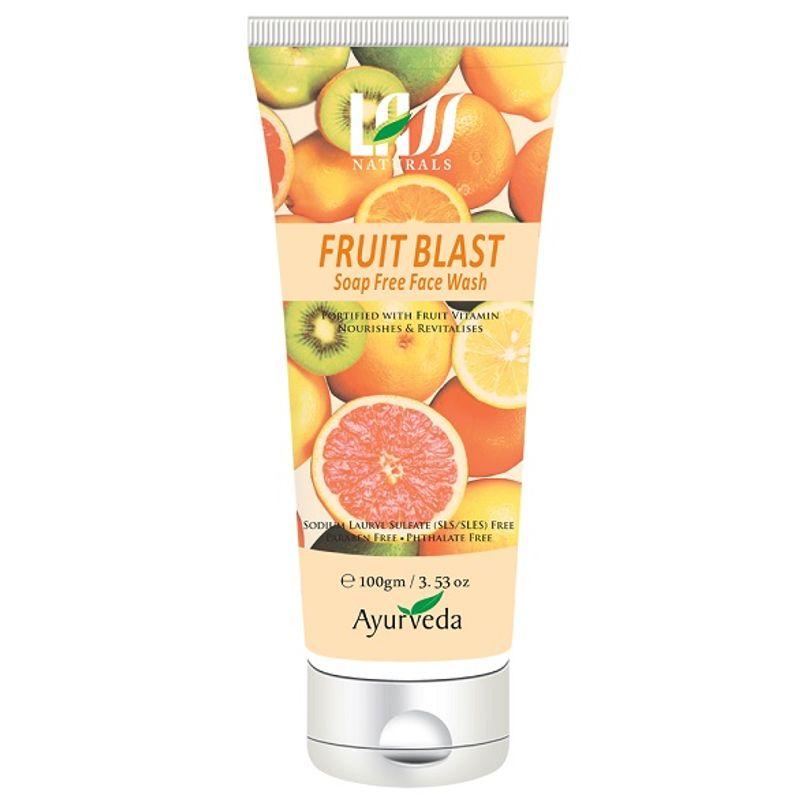 Lass Naturals Fruit Blast Soap Free Face Wash