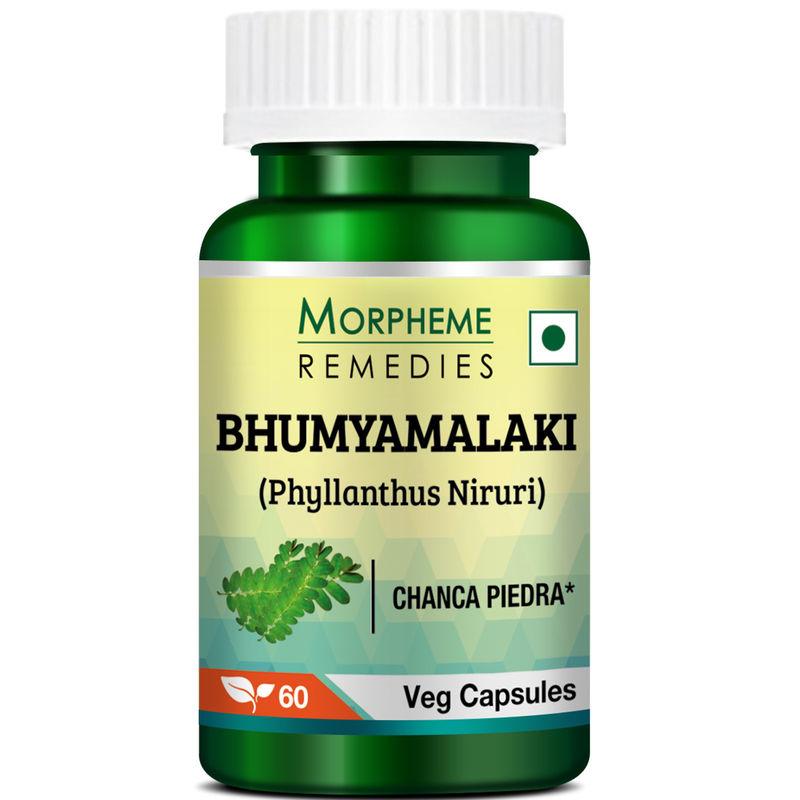 Morpheme Remedies Phyllanthus Niruri (Bhumyamlaki) Chanca Piedra - Stone Breaker - 500mg Extract