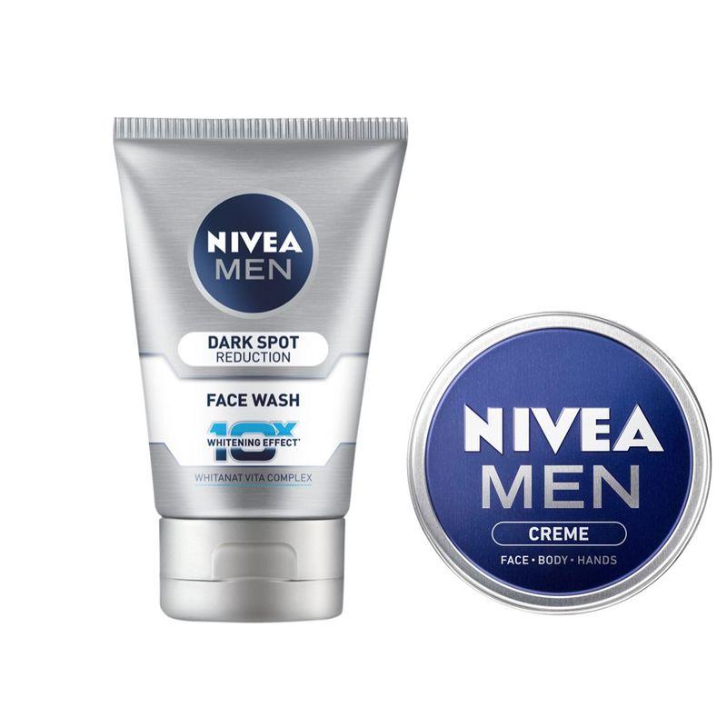Nivea Men Dark Spot Reduction Face Wash + Free Men Creme