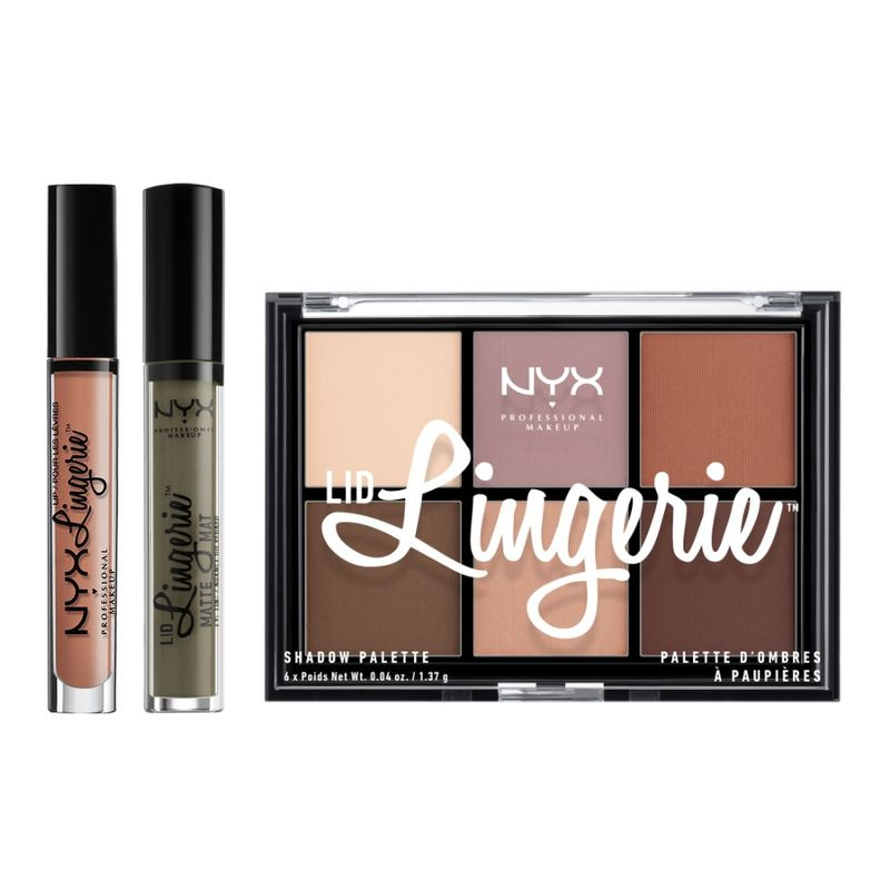 NYX Professional Makeup Power Of Nude Combo 3