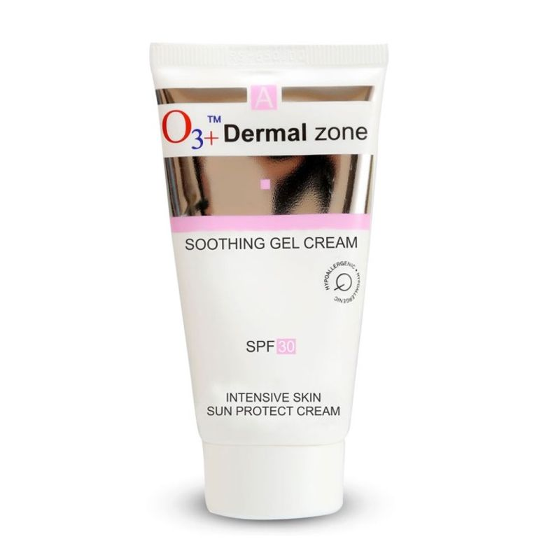 O3+ Dermal Zone Soothing Gel Cream - SPF 30 Intensive Skin Sun Protect Cream