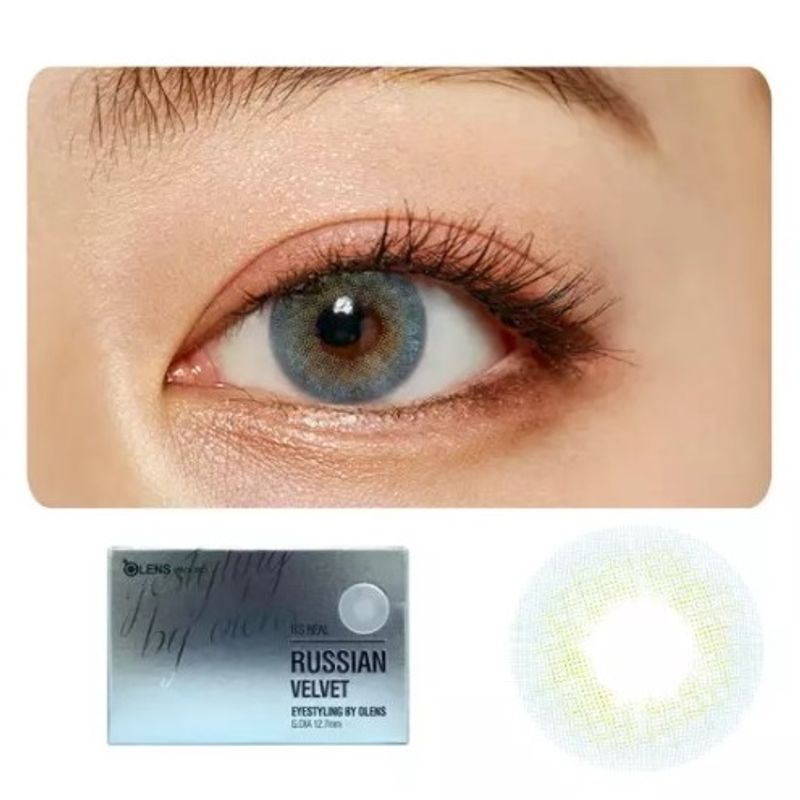 838b1c21179 O-Lens Russian Velvet Contact Lenses - Blue at Nykaa.com