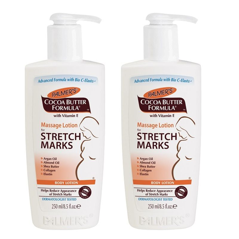 Palmer's Cocoa Butter Formula Massage Lotion For Stretch Marks Pack Of 2