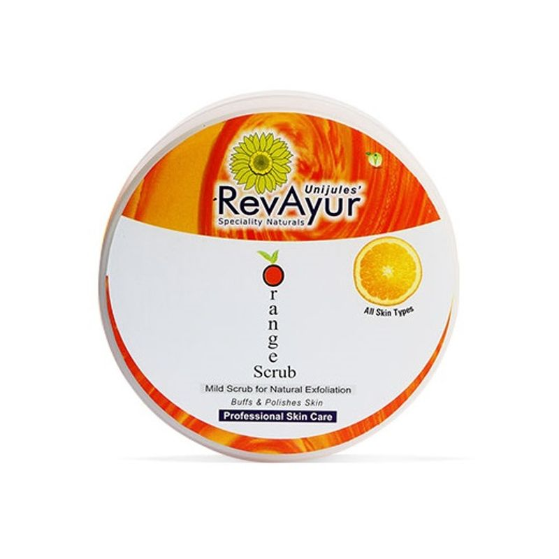 RevAyur Orange Face Scrub