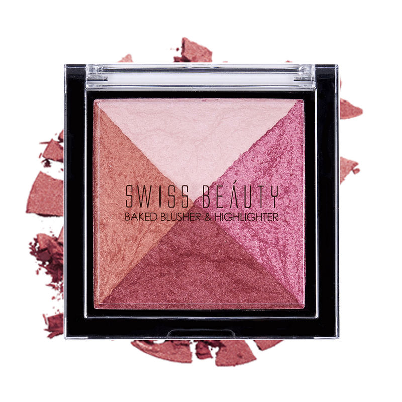 Swiss Beauty Baked Blusher & Highlighter