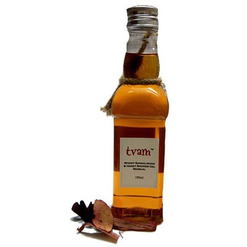 TVAM Woody Sandal & Honey Shower Gel