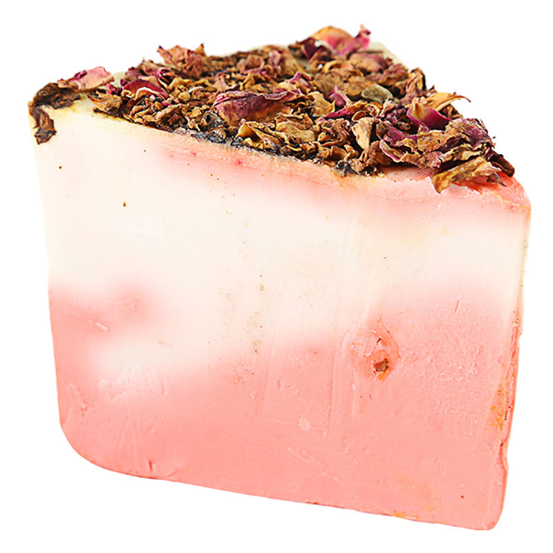 Vert Rose And Milk Handmade Soap