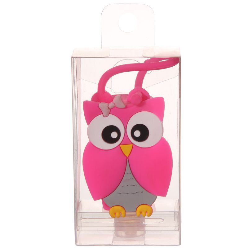 Zuci Junior Hand Sanitizer With Owl Bagtag Multi Flavour
