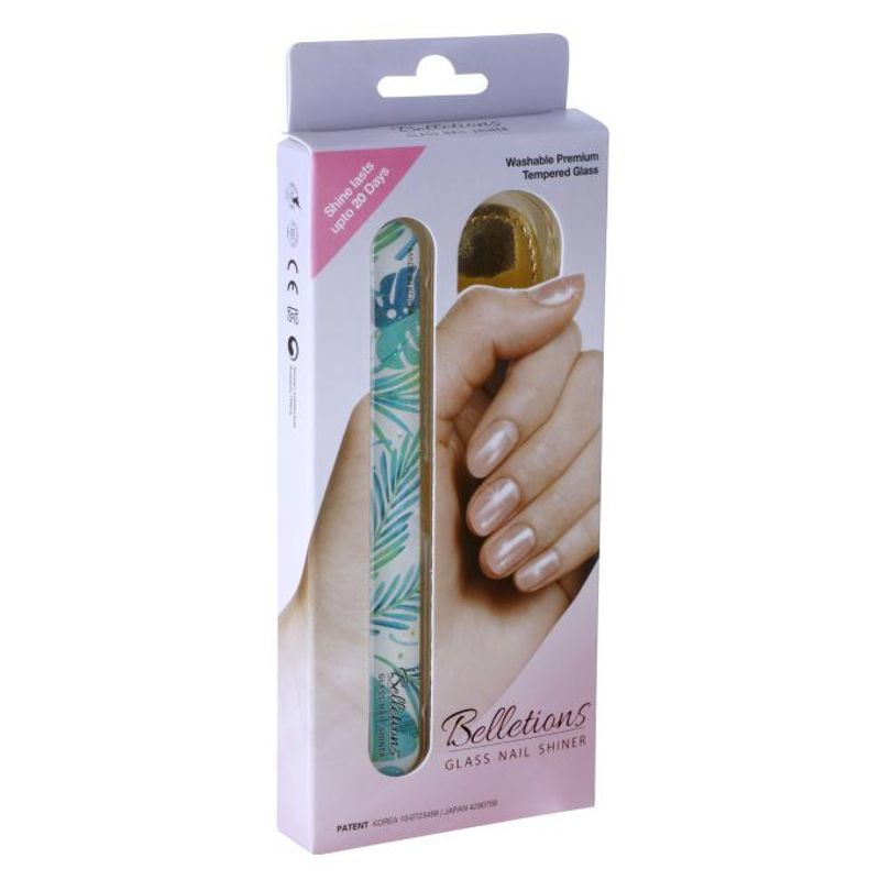 Belletions Glass Nail Shiner (Palm Green)