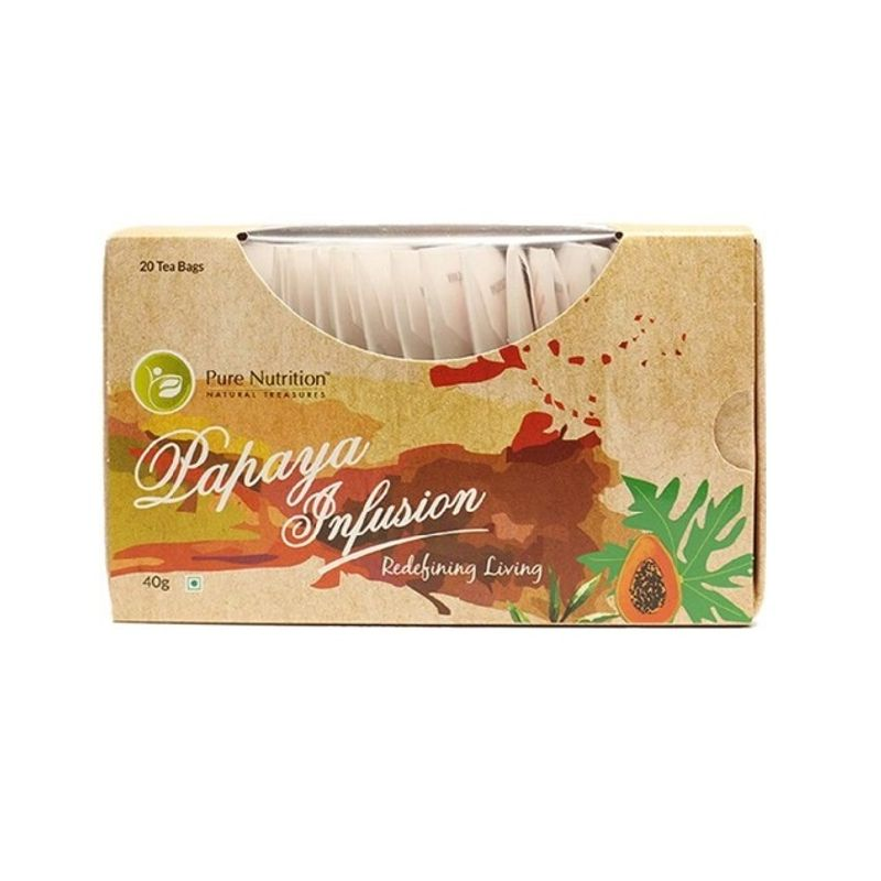 Pure Nutrition Papaya Infusion Tea Bags