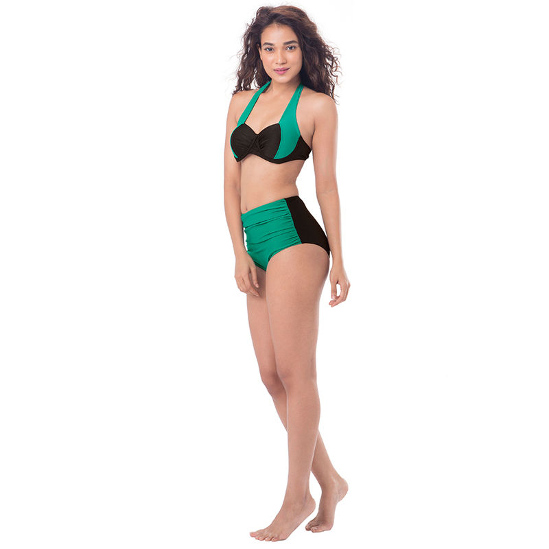 300d531616 Buy PrettySecrets Wrap Halter Bikini - Black